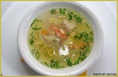 Fish soup - ray and hake combination
