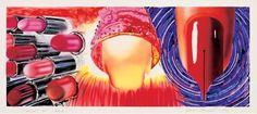 James Rosenquist, Fahrenheit 1982 Degrees, Colored ink on frosted mylar, 33 × 71 in. Whitney Museum of Amer. James Rosenquist, Pop Art Artists, Claes Oldenburg, Makeup Wallpapers, Jasper Johns, Roy Lichtenstein, Painter Artist, Whitney Museum, Nature Prints