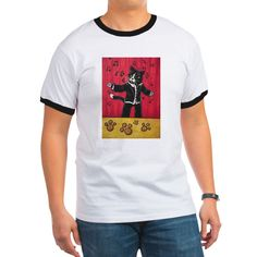 Opera Cat Ringer Black/White T-Shirt #gifts #awesome #CafePress #cats #paint #tuxedocat #opera #classic #colorful #classicmusic #singing #sing #song #tuxedo #musicnotes #tuxedojacket #stage #catlovers #catlife #catlady #cool #goodvibesonly #fun #funny #funnypics #funnycats #crazycatlady #art #toons #cartoonart #cartoon #catart #buyart #buy #buyable #onlineshopping #cutecats #cutepetclub #kitty #kittycat #animals #acryliccats #catsandme #cuteanimals #katzen #gatos #chat #gatti #neko