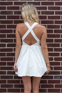 American Threads - White Cutout Dress, $52.99 (http://www.shopamericanthreads.com/white-cutout-dress/)