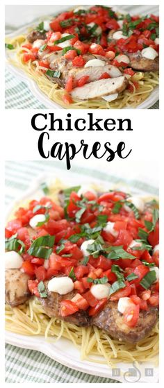 Chicken Caprese - Butter With A Side of Bread #NatureRaisedRecipes #ad