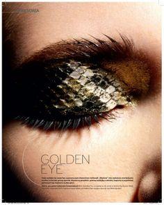 SNAKE EYE  Makeup Artist Patrycja Dobrzeniecka