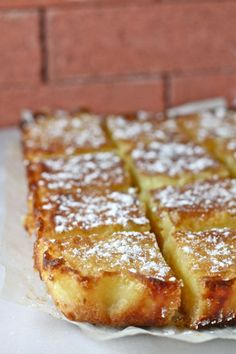 Smitten Kitchen's Lemon Bars... My nieces mention these a lot as one of their favorites I've made