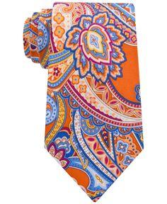 Geoffrey Beene Men's Timeless Paisley Classic Tie