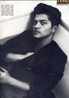 Bruno Mars - he totally looks like you in this picture @Devon Gregory Bastian
