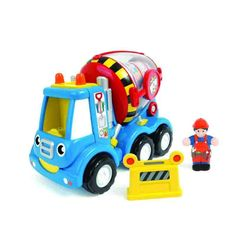 Buy Mix 'n' Fix Mike, the lovable toy cement mixer from WOW Toys. Push him along to power his Push & Go motorised engine and see his mixer drum spin the colourful cement round and around! Kids Toy Boxes, Kids Toys, Baby Bath Toys, Star Wars Toys, Pre School, Wooden Toys, Gifts For Kids, Stuff To Buy, 3 Piece