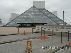 Visiting the Rock and Roll Hall of Fame in Cleveland, Ohio!!