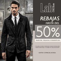 Una de nuestras boutiques favoritas de alta costura para hombre es Lab by Pal Zileri, donde encontrarán rebajas hasta del 50%. Válido del 1 de julio al 31 de agosto de 2013. Aplican restricciones.