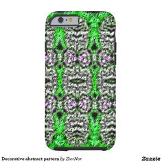 Decorative abstract pattern tough iPhone 6 case