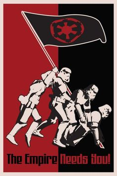 Make a statement in your home or office decor and be inspired with a unique art poster ready for framing. Star Wars Sith Propaganda Poster Print Trooper Printed on Fugi Crystal Archive Paper Star Wars Sith, Star Wars Rpg, Star Wars Fan Art, Star Trek, Empire, Star Wars Images, Bros, Star Wars Wallpaper, Star Wars Poster