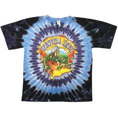 Grateful Dead Walking Coast To Coast Tie Dye T-shirt