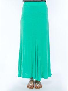 Solid Maxi Skirt - Skirts - Bottoms - Vanity