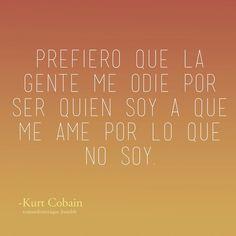 Frases • #Frases de -Kurt Cobain #citas #reflexiones #quotes