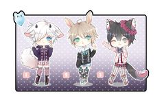 Auction Set 5 [CLOSED] by Reirii on DeviantArt