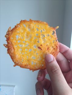 Crispy Cheddar Crisps! For when I want something crunchy on my low-carb diet.