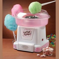 Nostalgia PCM805 Sugar Free Cotton Candy Maker Pink | eBay
