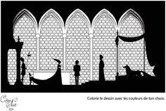 coloriage contes de la nuit-michel ocelot