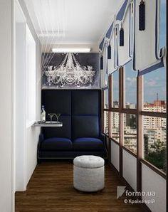 Квартира для двоих, Країна мрій, Лоджия/Балкон, Дизайн интерьеров Formo.ua