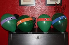 Ultimate Ninja Turtle Party ideas and food @thepielesstraveled.blogspot.com