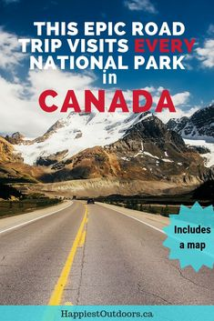Take a road trip across Canada and visit every Canadian National Park along the way. There are over 30 National Parks in Canada that you can drive to - visit them all in one epic trip. National Parks Canada road trip. List of National Parks in Canada. Where are the National Parks in Canada? #Canada #CanadianNationalParks #NationalParks #RoadTrip #RoadTripCanada #DriveAcrossCanada