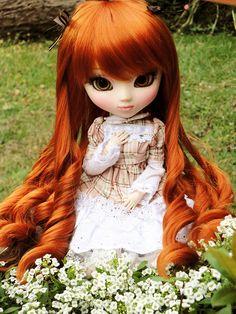 pullip doll #flowers #nature