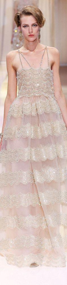 Armani Prive fall 2013 couture