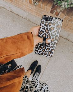 Round Bag, Leopard Spots, My Beauty, Moto Jacket, Black Booties, Everyday Look, Printed Skirts, Simple Style, Daily Fashion