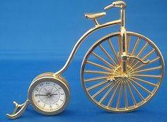 Grand BI. Bulova Miniature Penny Farthing Bicycle B0513 Original Box Quartz Collectible | eBay Penny Farthing, Bulova, Bicycle, Miniatures, Quartz, The Originals, Box, Collection, Bicycles