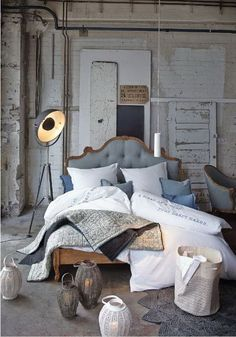 Alte Pracht in neu zum Träumen! #Bett #Möbel #Vintage #Impressionenversand