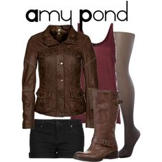 """""""Amy Pond #2"""" by nerdgirl2therescue on Polyvore"""