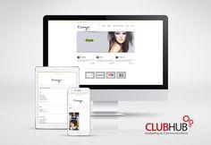 Hair Salon Website - http://essensesalon.ca