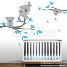 Kids+Wall++Koala+Tree+Branches++Kids+Wall+Decal+by+StunningWalls