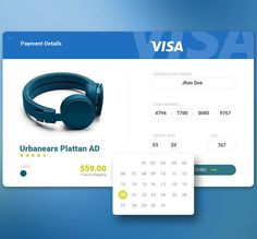 Day 004 Credit Card Payment by Pedro José Constante  #digital #interface #mobile #design #application #ui #ux #webdesign #app #concept #userinterface #userexperience #inspiration #materialdesign #instaart #creative #dribbble #digitalart #behance #appdesign #sketch #designer #web #userflow #visa by myinterface