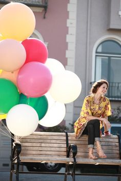 Love the balloons! Helium Balloons, Latex Balloons, Big Round Balloons, The Balloon, Big And Beautiful, My Design, Lady, Nice, Balloons