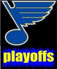 Blues clinched the playoffs last night!! Wooooooooooooo!!!!! Long Live The Note!