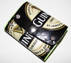 Guiness Beer Can small Wallet / Purse Recycled by TinkanDesigns, $12.00