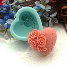 Beautiful flower handmade soap, Get more: pinterest.com/fancybt