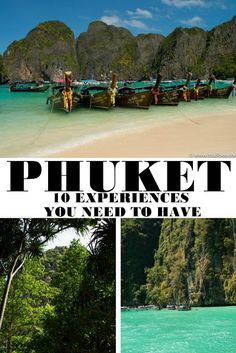 Visiting Thailand | 10 Experiences You Need To Have In Phuket | Its All Bee