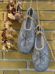 Felted slippersfelted shoesREADY to ship 40-41 frm от CosyDream