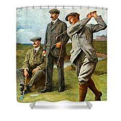 Choose your favorite golf shower curtains from thousands of available designs. All golf shower curtains ship within 48 hours and include a money-back guarantee. Golf Theme, Fine Art America, Curtains, Baseball Cards, Shower, Painting, Rain Shower Heads, Blinds, Painting Art