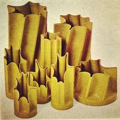 """""""Bambu"""" vases - Enzo Mari for Danese - 1971"""