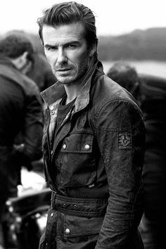 David Beckham imagen de Belstaff, primavera verano 2014