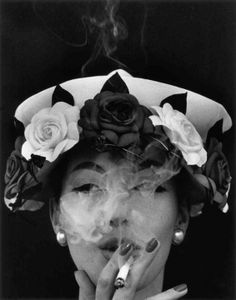 Hat and Five Roses, Paris (Vogue)