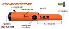 Detector de Metales Garrett Pro-Pointer AT 1140900 Nerf, Metal Detector, Teamwork, St Louis, Blue Prints