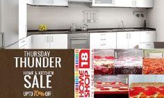 Thursday Thunder Sale:Upto 70 %off on Home& kitchen at HS18
