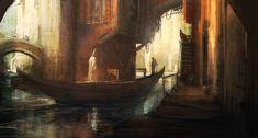 Good lighting, canals.