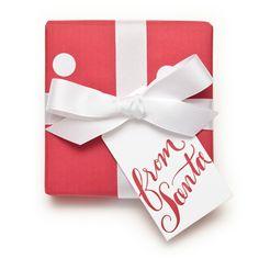 from santa - gift tags. so cute!