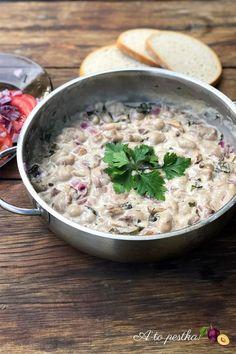 Sos z maślaków – przepis ze świeżych grzybów Risotto, Potato Salad, Grains, Potatoes, Ethnic Recipes, Food, Potato, Essen, Meals