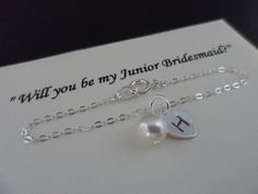 SALE  Will You Be My Junior Bridesmaid  by Jenalynscreations, $15.99