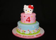Pink Hello Kitty cake by cakesbyelisa, via Flickr